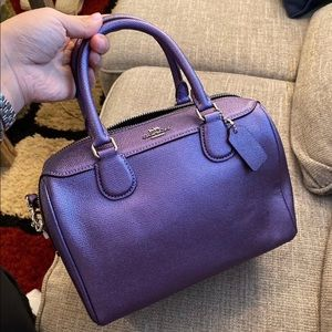coach small satchel brand new with tag